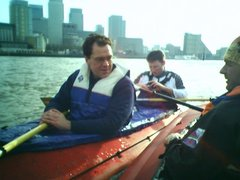 Two Kleppers at Canary Wharf