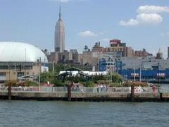 Chelsea Piers from the Hudson (click to enlarge).