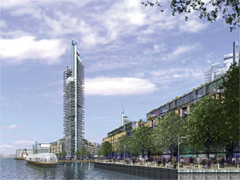Convoys Wharf redevelopment