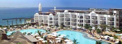 Kidney shaped pools at the Princesa Yaiza hotel